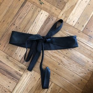 NWOT Anthropologie leather wrap belt